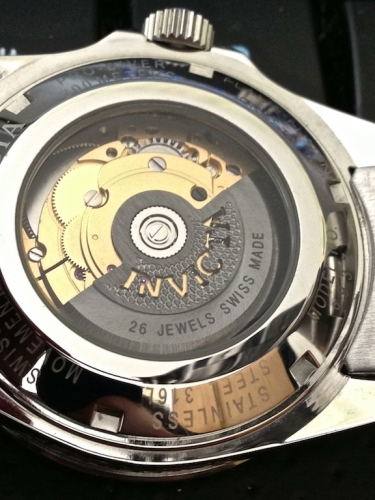 mouvement automatique suisse Invicta 9937