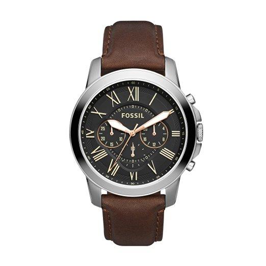 montre chronographe fossil fs4813