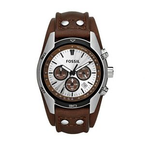 montre cuir fossil homme ch2565