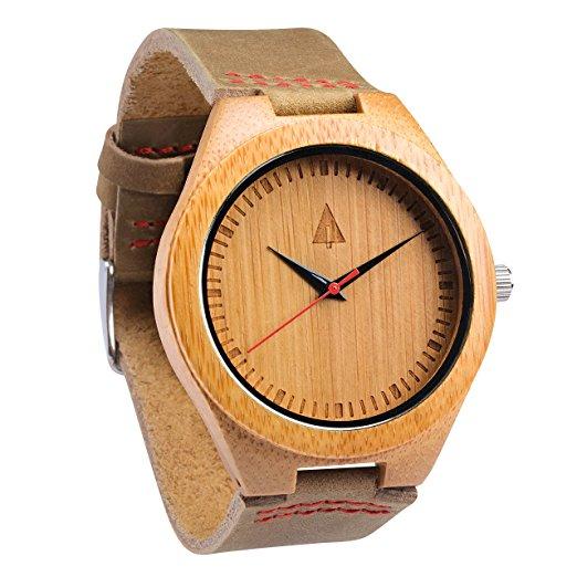 montre bois bambou treehut
