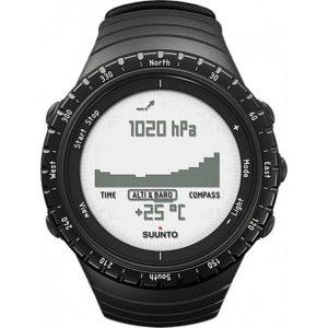 Fonction baromètre/altimètre sur montre Suunto Core