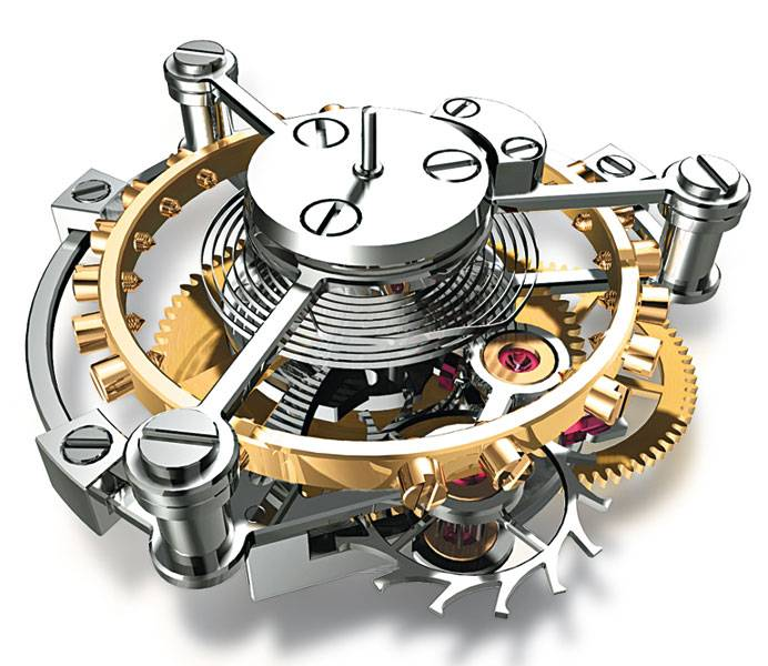 mecanisme montre automatique