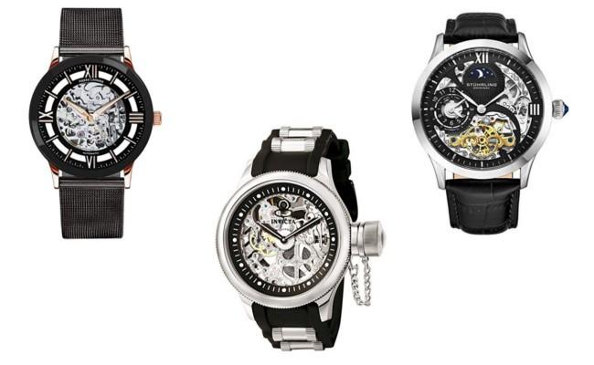 top meilleures montres squellettes