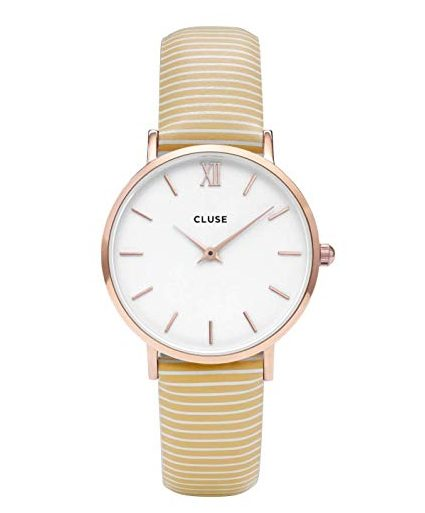 CLUSE Minuit Rose Gold White