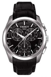 montre suisse Tissot couturier chrono black