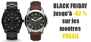 Promos montres Fossil