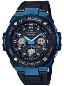 Casio G-Shock G-Steel Black and Blue Solar